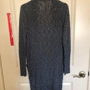 Athleta Sweaters - Blue Athleta long duster